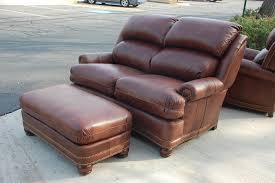 Craigslist Austin Leather Sofa by Hancock U0026 Moore Austin High Back Sofa Loveseat Tilt Chair