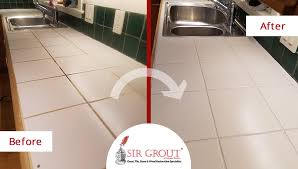 our high quality grout cleaning service enhanced the appearance of