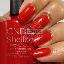 Cnd Shellac Led Lamp Instructions by Cnd Shellac Fine Vermillion Uv Led Polish Free Shipping At