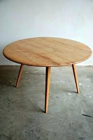 Round Dining Tables With Leaves Table Designed By Drop Leaf Extension