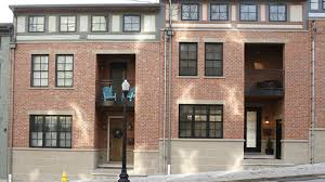 100 Row Houses Architecture Home Tour These Twin Pendleton Row Houses Look Identical