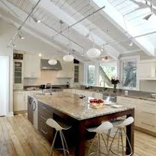 amazing track lighting kitchen sloped ceiling 54 in hton bay