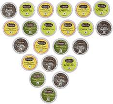 Celestial Seasonings Tea Sampler Keurig Single Serve K Cup Pods Variety Pack 22