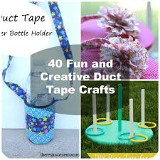 40 Easy DIY Duct Tape Crafts Instructions