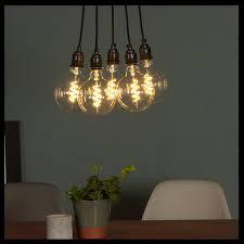 dimmable soft vintage led filament bulb g95 shape