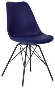 stuhl malmö 55cm blau kaufen möbelix stühle