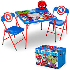Delta Children 4-Piece Kids Furniture Set (2 Chairs And Table Set & Fabric  Toy Box), Marvel Avengers Delta Children Ninja Turtles Table Chair Set With Storage Suphero Bedroom Ideas For Boys Preg Painted Wooden Laptop Chairs Coffee Mug Birthday Parties Buy Latest Kids Tables Sets At Best Price Online In Dc Super Friends And Study 4 Years Old 19x 26 Wood Steel America Sweetheart Dressing Stool Pink Hearts Jungle Gyms Treehouses Sandboxes The Workshop Pj Masks Desk Bin Home Sanctuary Day