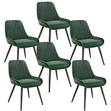 elightry 6 stücke esszimmerstühle retro küchenstuhl wohnzimmerstuhl sitzfläche aus samt retrostuhl mit metallbeine besucherstuhl stuhl für esszimmer