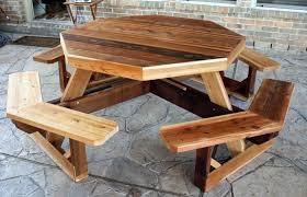 Impressive Octagonal Table Outdoor Kids Plastic Picnic ...