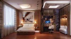 home office im schlafzimmer wie einen funktionalen