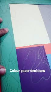 When Using Coloured Paper Youre A Very Limited Palette And So Deciding What Pieces Are Best Assigned To Each Colour Is Key