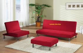 beige microfiber with adjustable back klik klak sofa futon bed