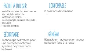 installation siege auto bebe confort destockage bebe confort siège auto groupe 2 3 rodifix airprotect