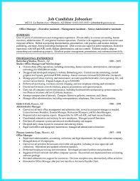 Administrative Assistant Skills Resume
