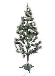 6ft Fiber Optic Pine Needle Christmas Tree