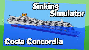 sinking ship simulator costa concordia and ms estonia youtube