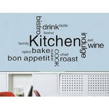 Buy 236 X 472 Wall Decals Decor Murals Kitchen Quote Saying Lettering Words Vinyl Decal Mural Sticker Drink Wine Cook Taste DIY PVC Removable