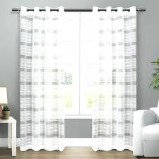 Sheer Curtain Panels Walmart by Off White Sheer Curtains White Sheer Curtains Bed Bath And Beyond