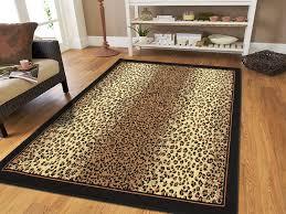 Amazon 8x11 Cheetah Rug Animal Print Rectangle Leopard