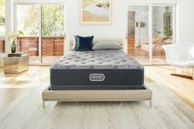 Roll Away Beds Sears by Beautyrest Silver Grays Reef Luxury Firm Queen Mattress