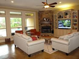 Wonderful Corner Fireplace Design Ideas Pictures Brown Tile Ceramic Wall Black Electric With Living Room