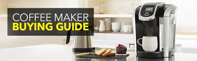 Coffee Maker Buying Guide Kitchen Counter Beans