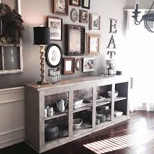 Amazing Wall Gallery And Sideboard