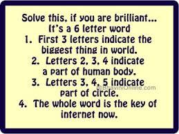 plete 6 letter word whatsapp answer