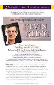 An Evening With Storyteller Kevin Kling - 3/31/2015 — Minnesota ... Events Midge Bubany Author Welcome Week 2017 Schedule Maverick Minnesota Intertional Festival State University Mankato Barnsie Hashtag On Twitter Good Thunder Stores Bargains Amazon Buying Whole Foods In 137b Deal News Mankatofepresscom Raising Phoenix Photo Tour And North Bnwchester Learning Communities At Home Facebook