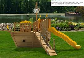 Furniture: Captivating Wooden Playsets For Appealing Kids ... 34 Best Diy Backyard Ideas And Designs For Kids In 2017 Lawn Garden Category Creative To Welcome Summer Fireplace Plans Large And On A Budget Fence Lanscaping Design Wall Rock Images Area Cheap Designers Small Playground Amys Office How Build A Seesaw Howtos Kidfriendly Yard Makes Parents Want Play Too Kid Friendly For Interior Gorgeous 40 Cute Yards Tasure Patio Fniture Capvating Wooden Playsets Appealing