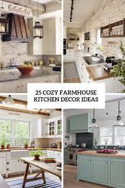 Www Kitchen Ideas 25 Cozy Farmhouse Kitchen Decor Ideas Wohnidee By Woonio