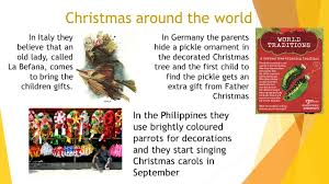 Pickle On Christmas Tree German Tradition by Christmas By Criselda Fazzini In Some Countries Like America And