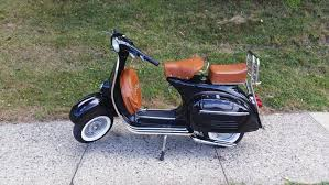 1967 Black Vespa 150 VBC
