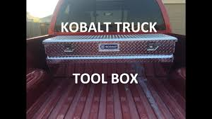 100 Kobalt Truck Tool Box YouTube