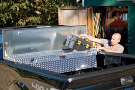 100 Truck Tool Boxes Low Profile Single Lid Box Accessories Inc