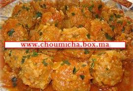 choumicha cuisine boulettes à la marocaine choumicha cuisine marocaine choumicha