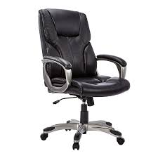 AmazonBasics High-Back Executive Chair - Black Recliner Office Chair Pu High Back Racing Executive Desk Black Replica Charles Ray Eames Leather Friesian And White Hon Highback With Synchrotilt Control In Hvl722 By Sauda Blackmink Office Chair Black Leatherlook High Back Executive Derby High Back Executive Chair Black Leather Cappellini Lotus Eliza Tinsley Mesh Adjustable Headrest Big Tall Zetti