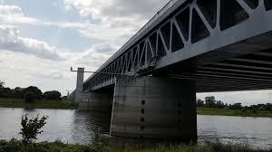 100 Magdeburg Water Bridge Wasserstraenkreuz