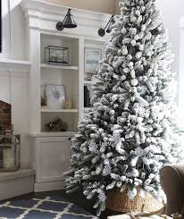 9 Ft Flocked Pencil Christmas Tree by Best 25 9 Foot Christmas Tree Ideas On Pinterest Tall Skinny