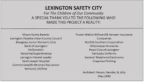 Halloween City Richmond Ky by History Of Safety City Safety City Eastern Kentucky University