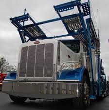 100 Comcar Trucking CottrellPeterbilt Custom Paint Carhauler Waiting For You To Become
