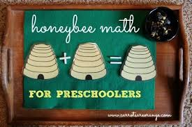Montessori Math Activity With Honeybees