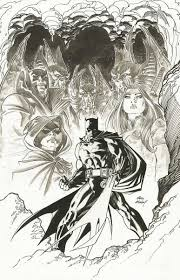 Batman Black And White DC BATMAN UNWRAPPED BY ANDY KUBERT DELUXE EDITION HC At Comic Art Community