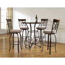 Wayfair Kitchen Pub Sets by Manly Bar Height Table Set Room Zebra Fabric Upholstered Chair