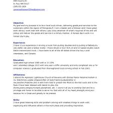 Awesome Truck Driver Resume Template Sample Displaying Summary And
