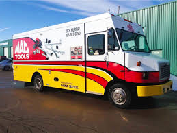 MAC Tools Delivery Truck Graphics | Fierce Wraps