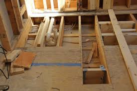 Preparing Subfloor For Tile Youtube by Remodeling A Bathroom Shower A Concord Carpenter