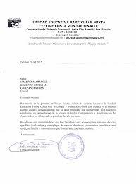 Carta De Trabajo En Ingles Ecosia