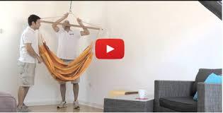 Brazilian Padded Hammock Chair by La Siesta Tv