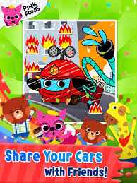 Cars Coloring Book PINKFONG APK Download Free Education APP For